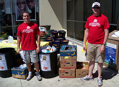 Staff Council''s Summer Food Drive to benefit the Food Bank of the Golden Crescent