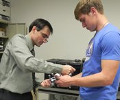 UHV awards grant to expand robotics, virtual reality research