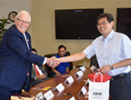 Chinese university interested in sending students to UHV
