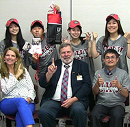 Taiwanese students visit UHV faculty in Katy