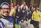 UHV students repair homes during Alternative Spring Break