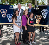 UHV unveils official class ring
