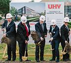 UHV breaks ground on University Commons