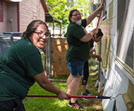 UHV students volunteer at community nonprofits for Day of Service