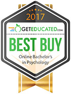 Three UHV psychology programs named Best Buys by GetEducated.com
