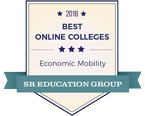 2018 Best Online Colleges, Economic Mobility