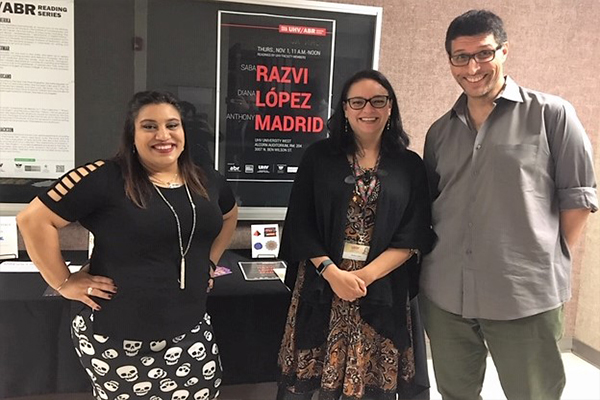 UHV NewsWire - UHV/American Book Review Reading Series showcases faculty