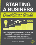 Starting a Business QuickStart Guide book